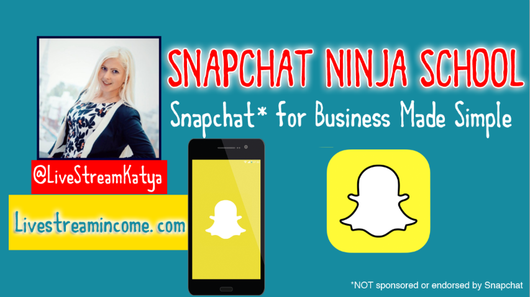 Snapchat Ninja School - Snapchat Made Simple for Business