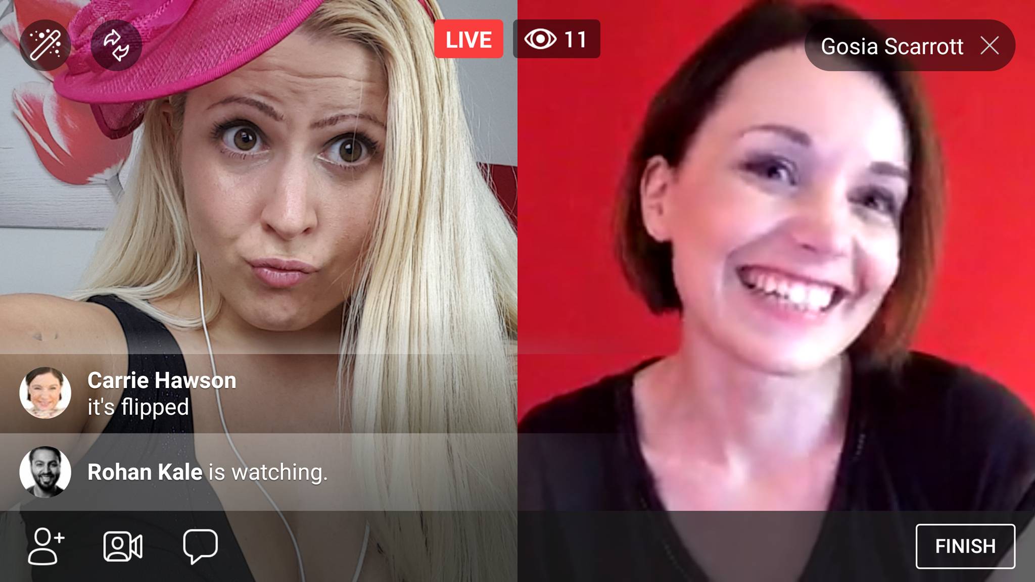 How to Do Split-Screen Interviews on Facebook Live w/o 3rd Party Service