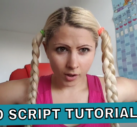 video script tutorial